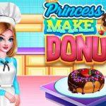 PRINCESS MAKE DONUT COOKING